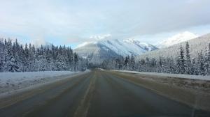 Road Outside of Jasper - Jan 13'