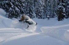 Wet N Wild Snowmobiling in Golden BC