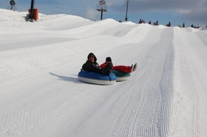 snow tube pic