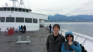 On our way to Victoria BC!