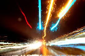 night driving in rain
