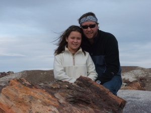 2006 Jessica and Daddy - Grand Canyon