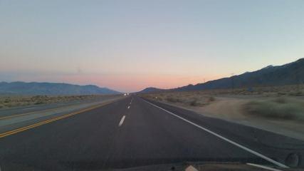 Hwy 395 near Lone Pine, CA
