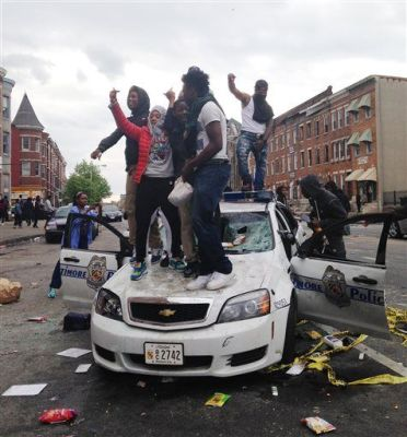 Newsweek.com - Baltimore Riots April 27, 2015